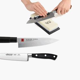 סכינים ומשטחי חיתוך