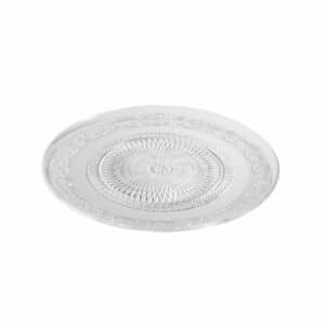 """צלחת מרוקעת זכוכית 20 ס""""מ. מתאים למנה ראשונה, ולהגשת מאכלים חמים וקרים. ניתן לשטוף במדיח כלים. מתאים למיקרוגל."""